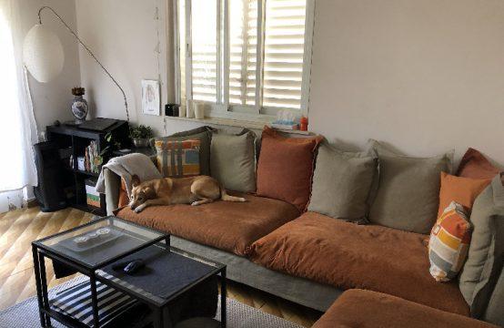 """דירת 3 חדרים למכירה בתל אביב, 70 מ""""ר, קומה 1 מ-3."""