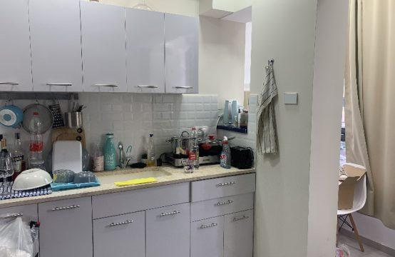 """דירת 1.5 חדרים למכירה בתל אביב, 27 מ""""ר, קומה 1 מ-4."""
